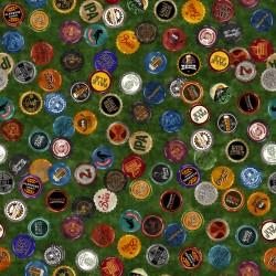 Beer Bottle Caps - GREEN