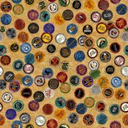Beer Bottle Caps - GOLD