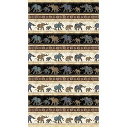 Elephant Stripe 130/70 Weave - MULTI