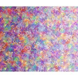 Floralessence Ombre  - ORANGE/PURPLE