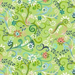 Garden Swirl - GREEN