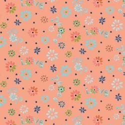 Ditsy Flowers - PEACH