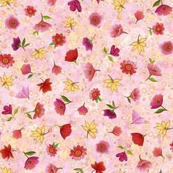 Spaced Floral - PINK