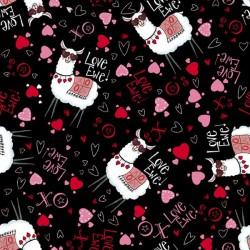 Love Ewe Toss - BLACK
