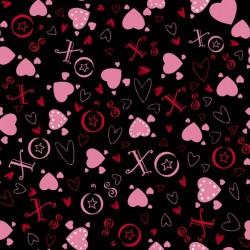 Heart Toss - BLACK