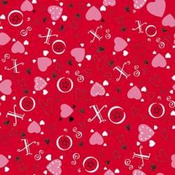 Heart Toss - RED