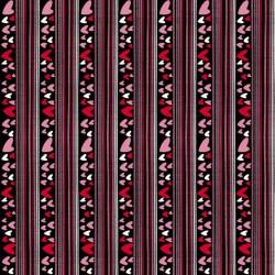 Heart Stripe - BLACK