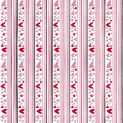 Heart Stripe - WHITE