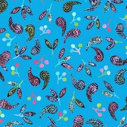 Paisley & Berries - BLUE
