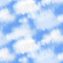 Clouds - DK BLUE