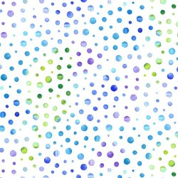 Dots - WHITE/BLUE