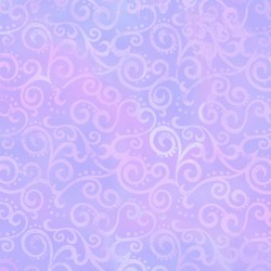 Ombre Scroll - LILAC