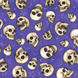 TOSSED SKULLS - PURPLE