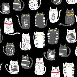 CATS - BLACK
