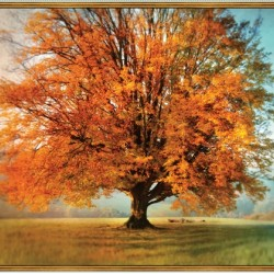 AUTUMN TREE DIGITAL PANEL (90CM)