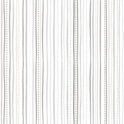 STITCHED STRIPE - WHITE