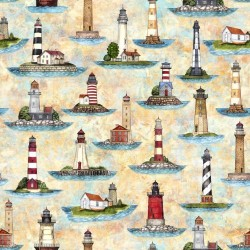 LIGHTHOUSES - TURQUOISE