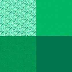 FAT QUARTER PANEL (90CM) - EMERALD