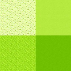 FAT QUARTER PANEL (90CM) - LIME