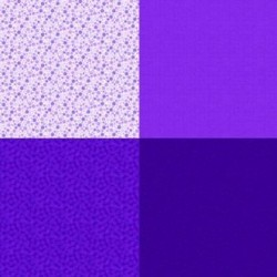 FAT QUARTER PANEL (90CM) - GRAPE