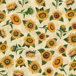 SUNFLOWER TOSS - CREAM