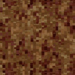 "108"" OMBRE SQUARES BACKING - BROWN"