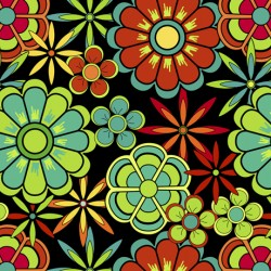 FLOWERS - BLACK