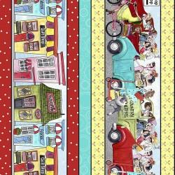 Shop Hop Decorative Stripe - MULTI