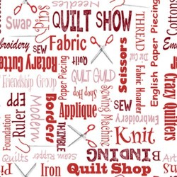 Quilters Lingo - RED