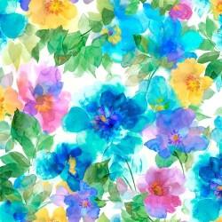 Feature Watercolor Floral - MULTI