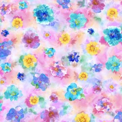 Watercolor Floral - PINK