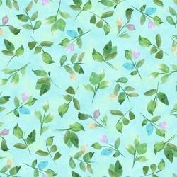 Leaf Sprigs - LT BLUE