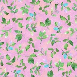 Leaf Sprigs - PINK