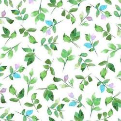 Leaf Sprigs - WHITE