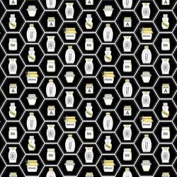 Honey Jars - BLACK