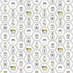 Honey Jars - WHITE