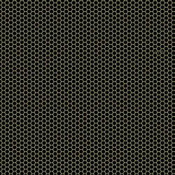 Honeycomb - BLACK