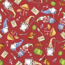 Gnomes & Veggies Toss - TOMATO