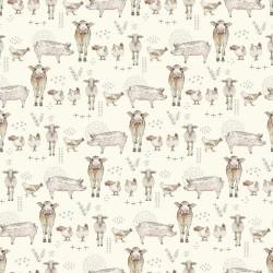 Farm animals - CREAM