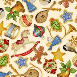 Christmas Decorations - CREAM