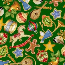 Christmas Decorations - GREEN