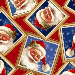 Santa in Frames - RED