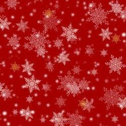 Snowflakes - RED