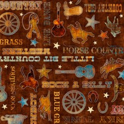 Country Phrases - BROWN