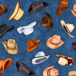 Cowboy Hats - DENIM