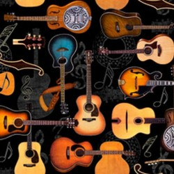 Guitars - BLACK