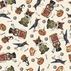 Halloween Toss - CREAM