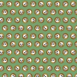 Skulls - GREEN