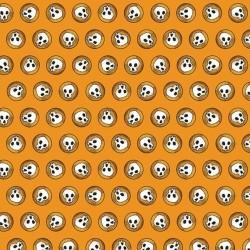 Skulls - ORANGE