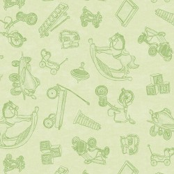 Toy Toile - GREEN